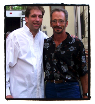 With Marty Haggard, 2010